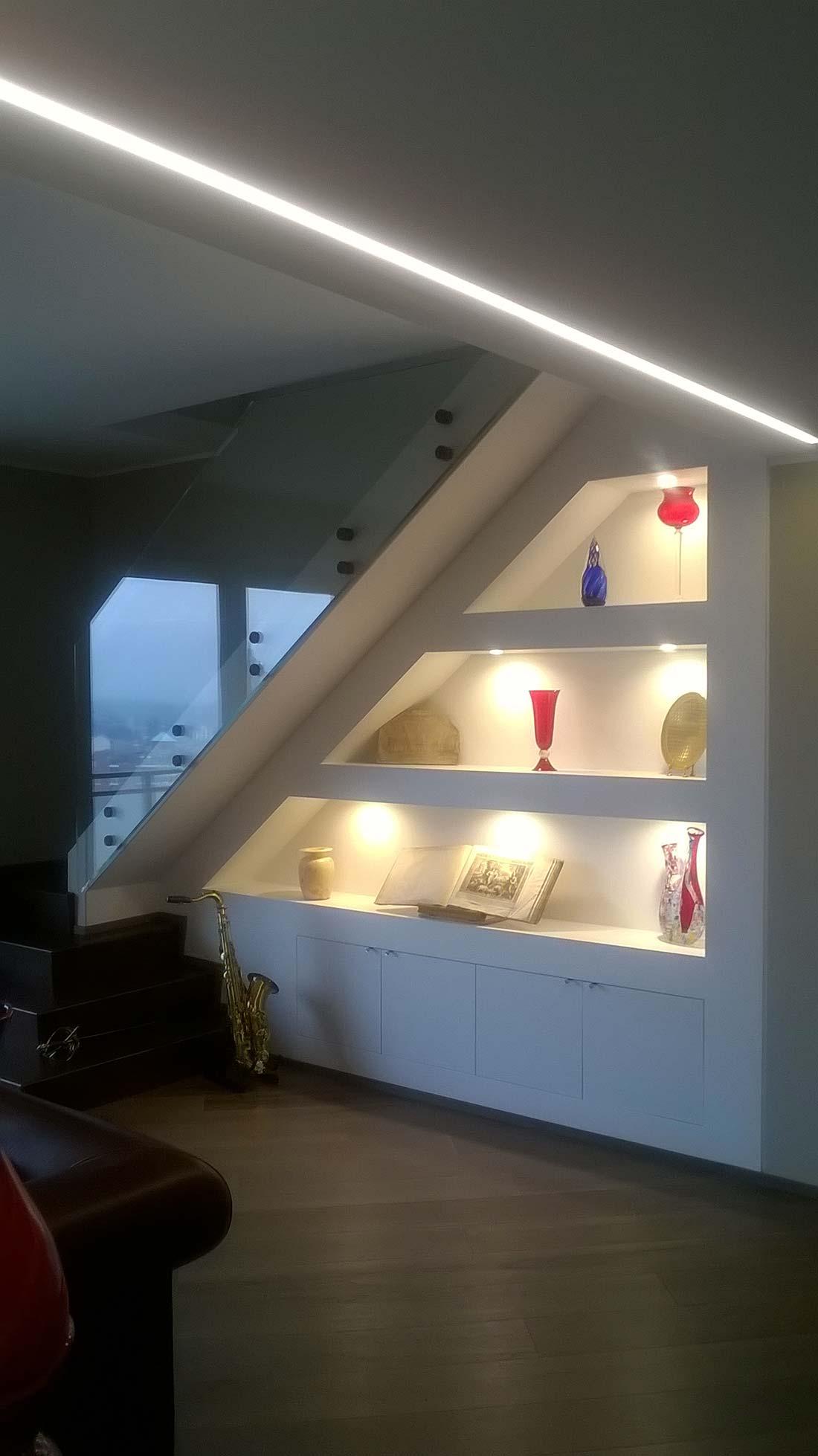 Attico e superattico a monza for Interior design agency milano
