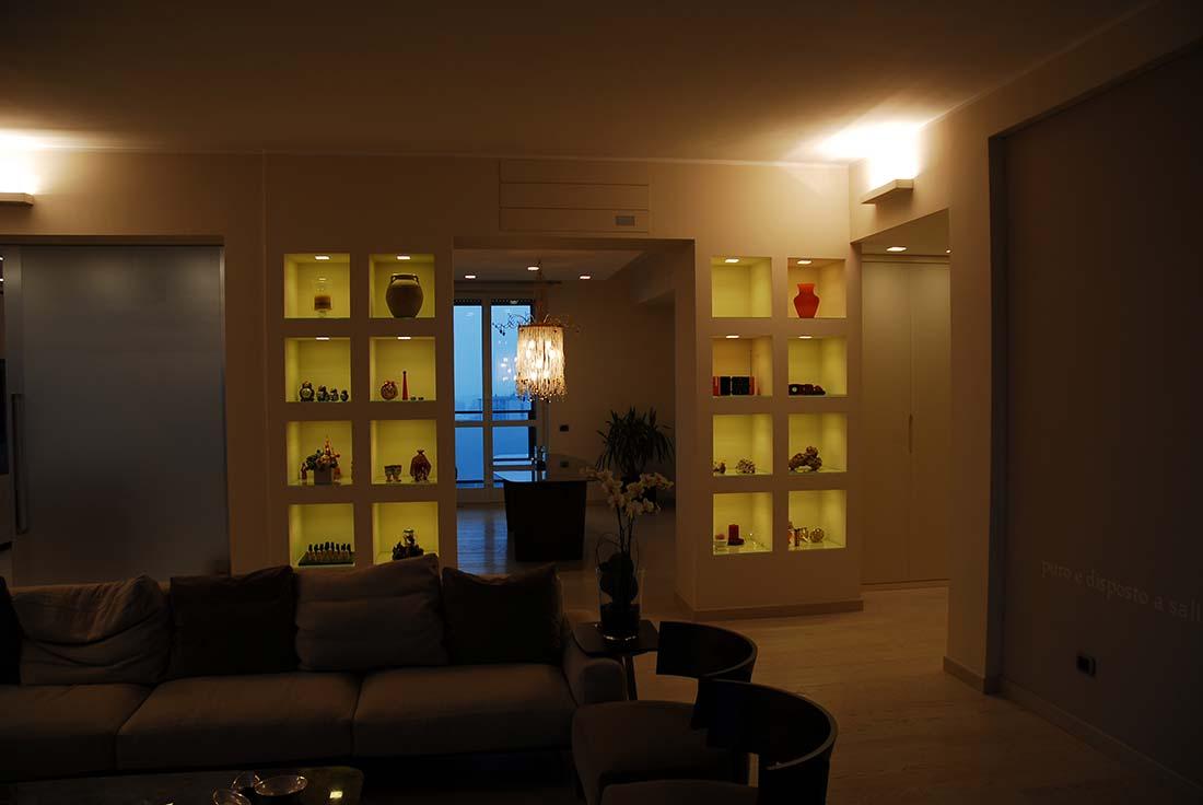 Attico a monza studio e progettazione - Interior designer milano ...