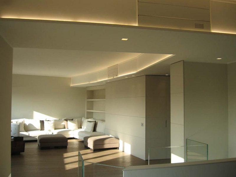 Architettura e interior design multipiano Milano