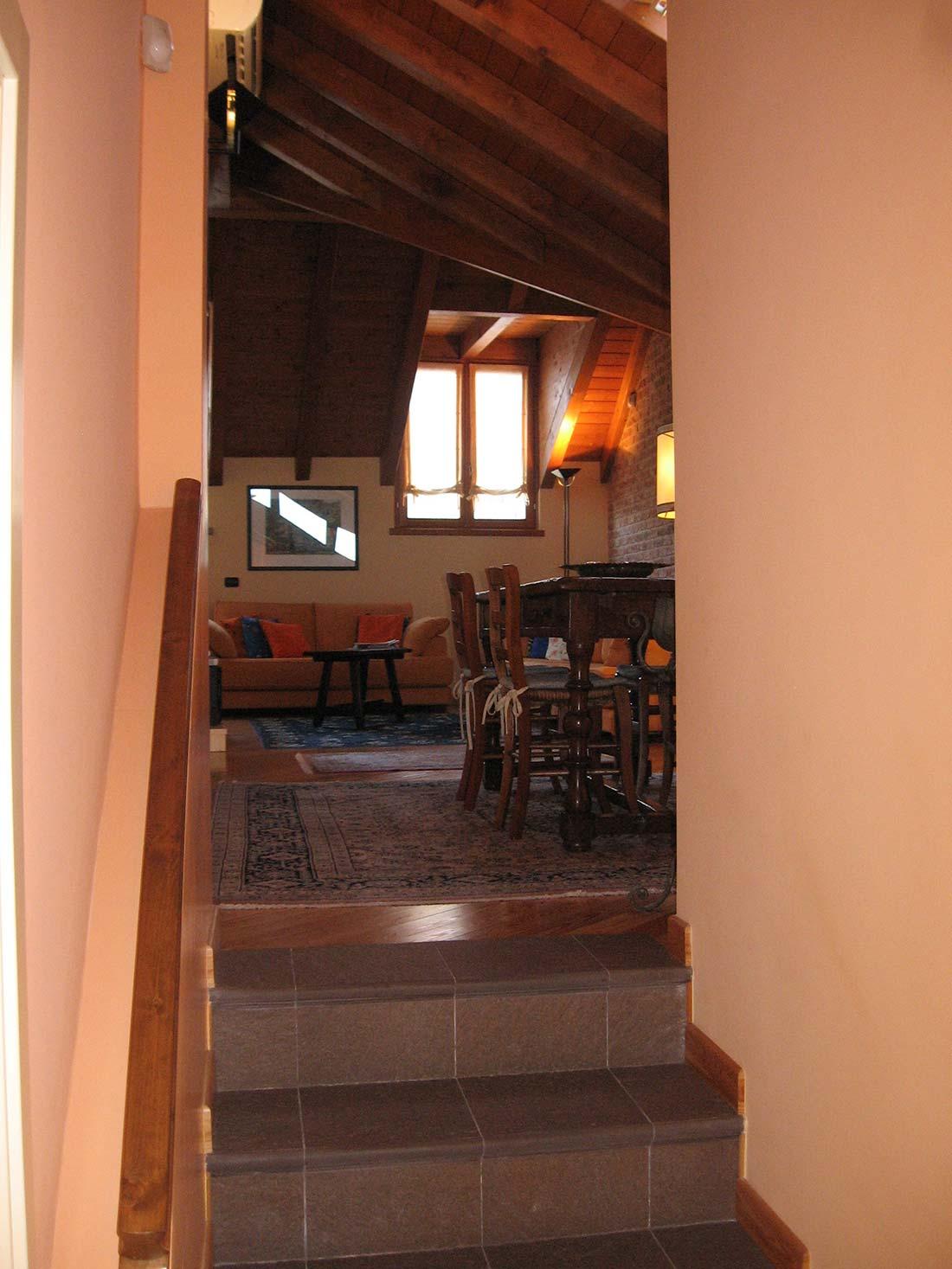 Appartamento mansardato lissone for Arredatori d interni famosi