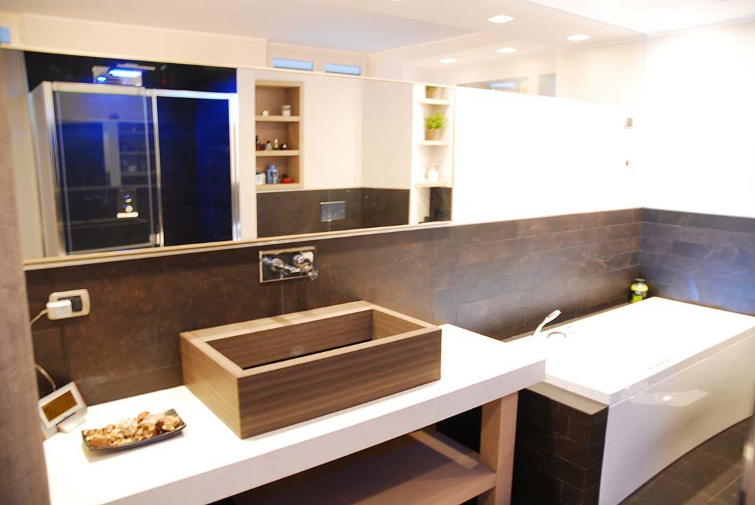Attico a monza studio e progettazione for Arredamento architettura interni