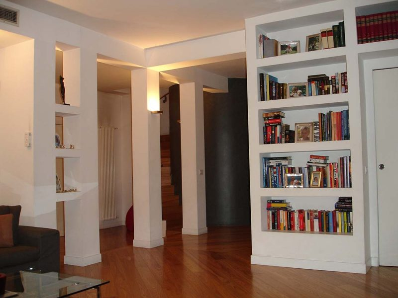 Attico super attico centro Monza interior design