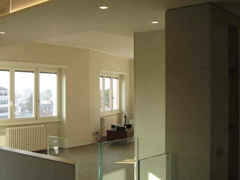 Design interni appartamenti multipiano Milano