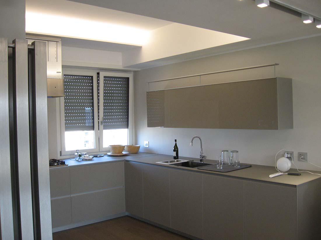 Appartamento su due piani for Design interni famosi