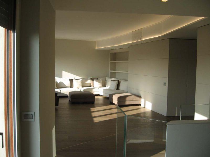 Design interni appartamento multipiano monza