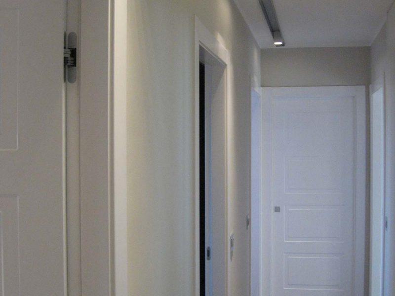 Interior design appartamento due piani milano