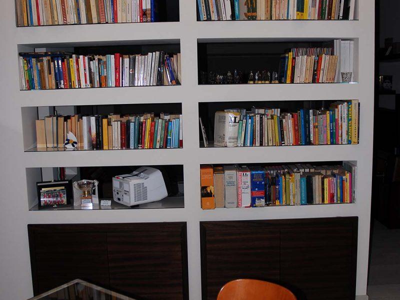 Interior design attico milano