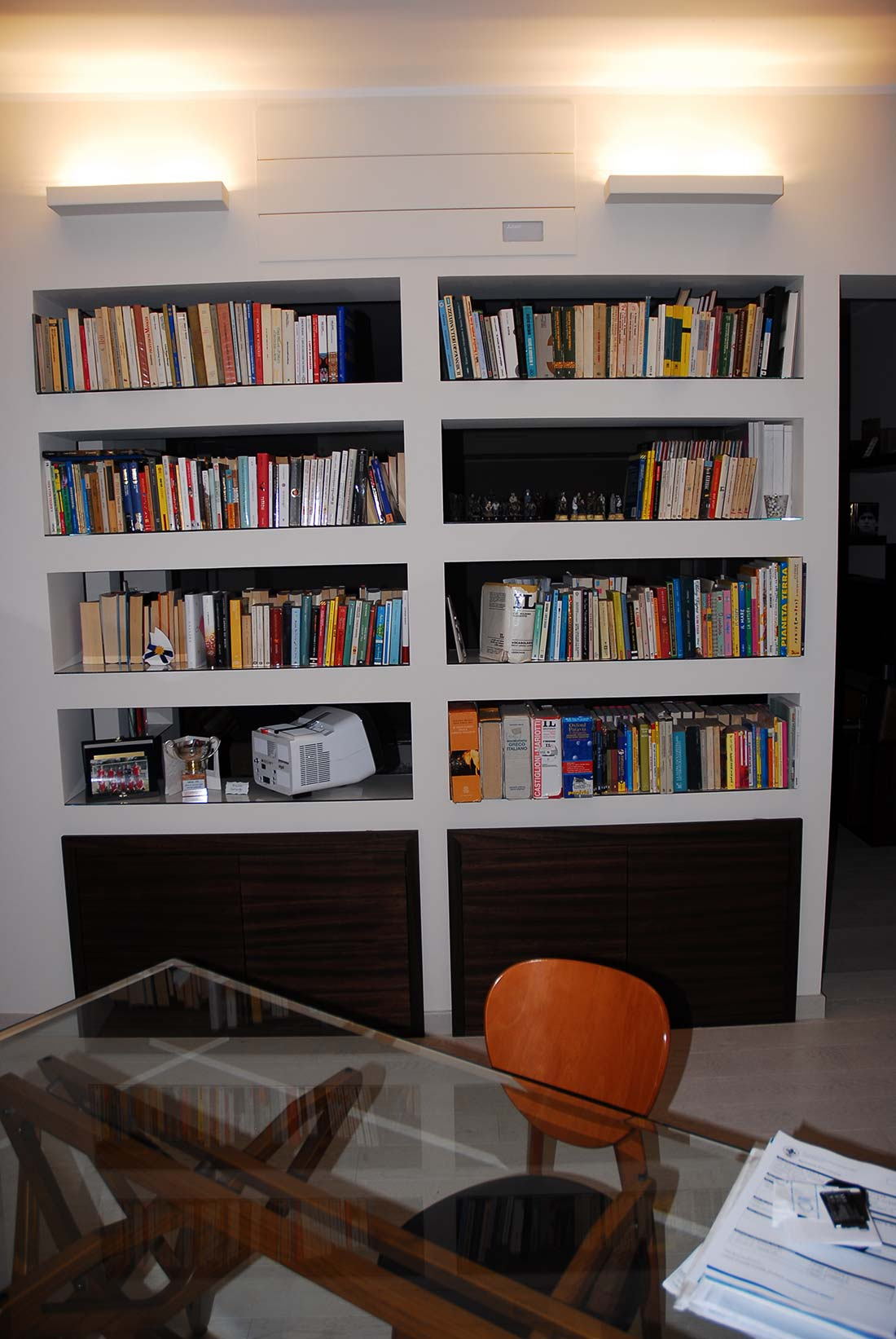 Interior design attico milano cardin design for Interior design agency milano