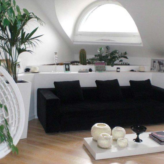 Mansarda Monza interior design 2