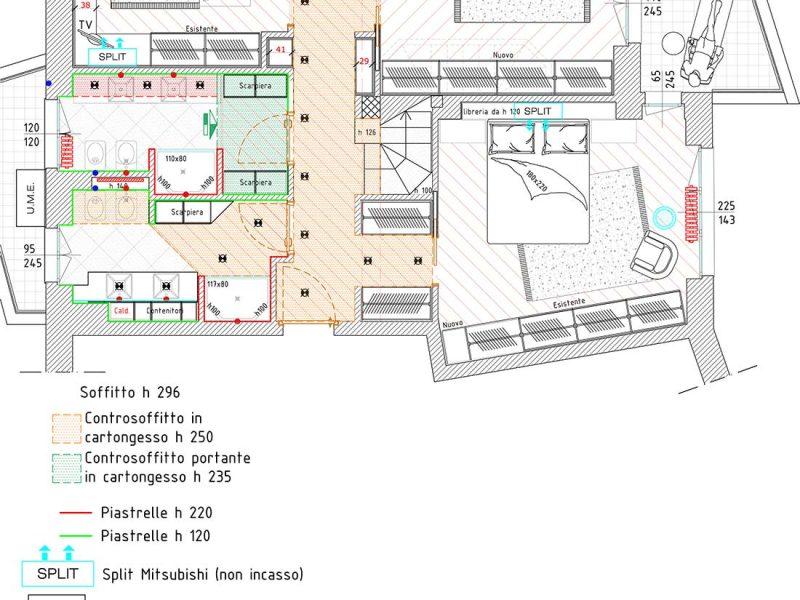 Mappa arredamenti appartamenti multipiano
