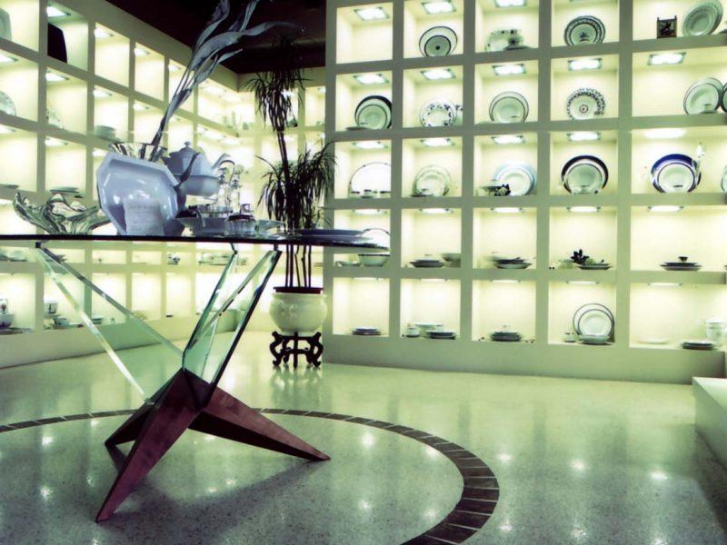 Negozio di cristallerie Monza interior 1