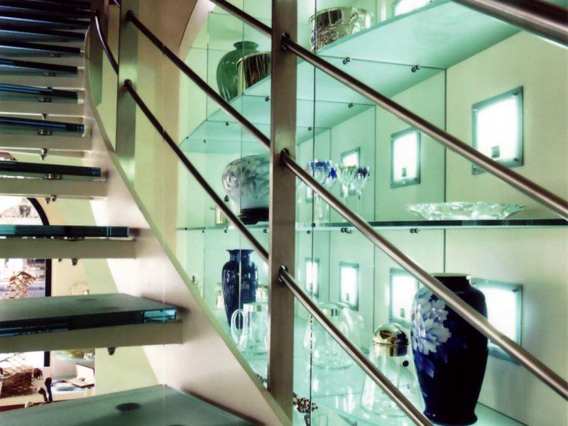 Negozio di cristallerie Monza interior 2