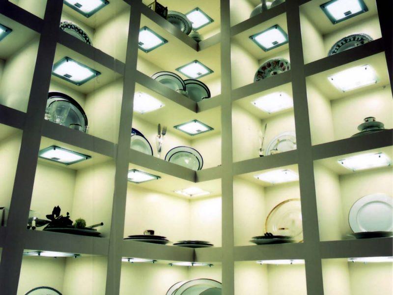 Negozio di cristallerie Monza interior 3