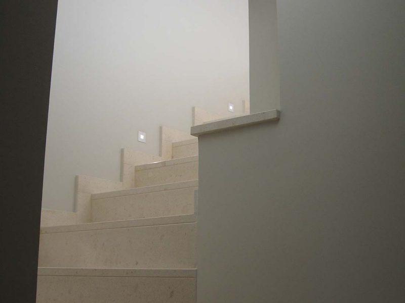 Progettazione appartamentp due piani milano