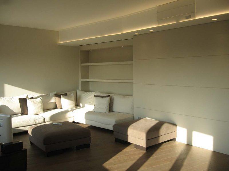 Progettazione design appartamento due piani monza