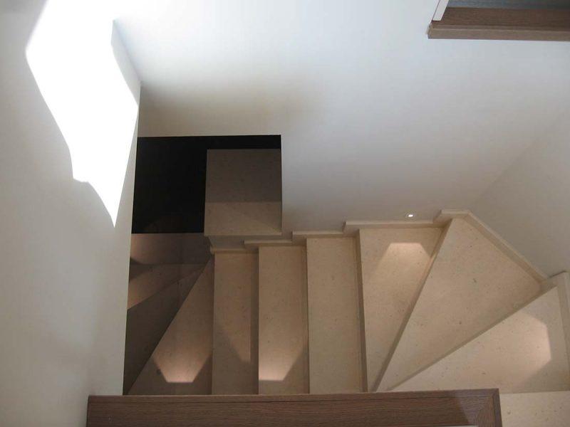 Progettazione interni appartamento due piani monza
