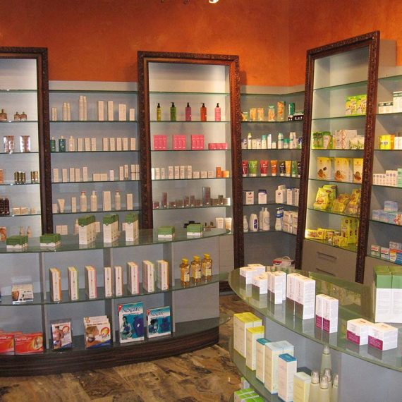 design farmacia monza