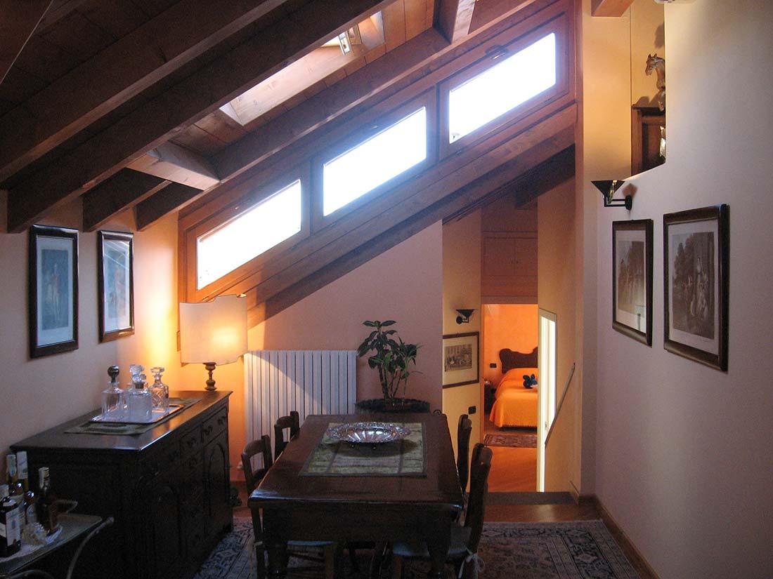 Appartamento mansardato lissone - Idee arredamento mansarda ...