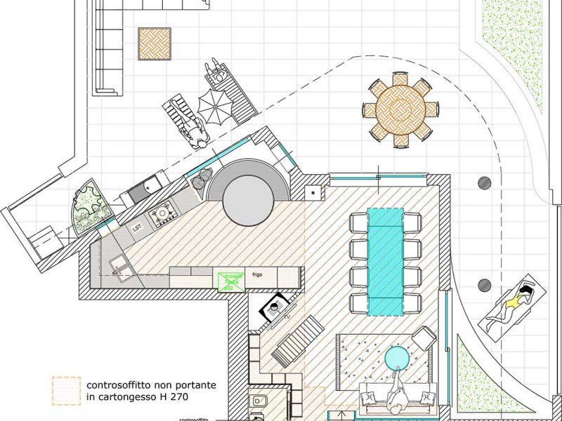 mappa attico