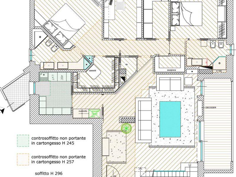 mappa super attico