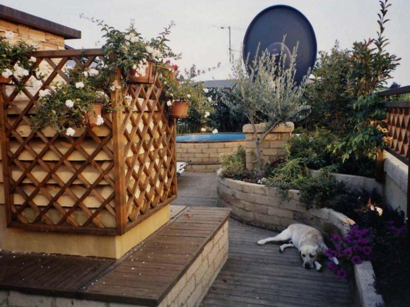progettazione piscina su lastrico solare 2