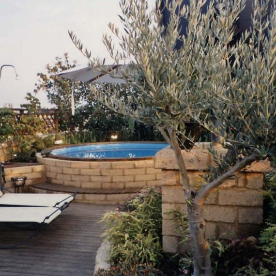 progettazione piscina su lastrico solare 4