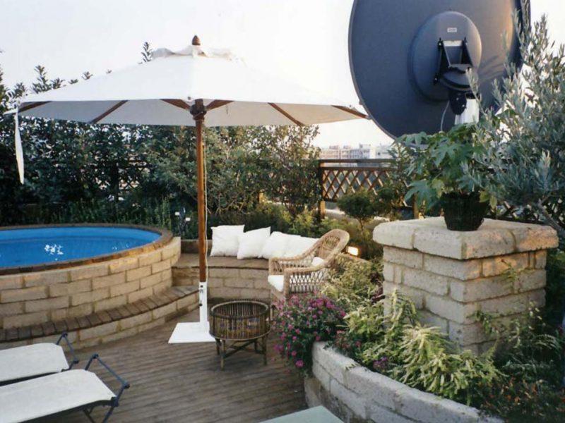 progettazione piscina su lastrico solare 5