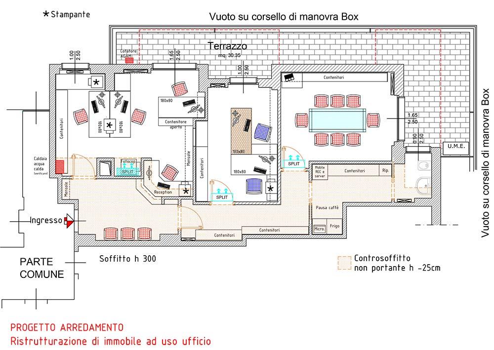 Ufficio progettazione d 39 interni milano e monza brianza for Planner arredamento